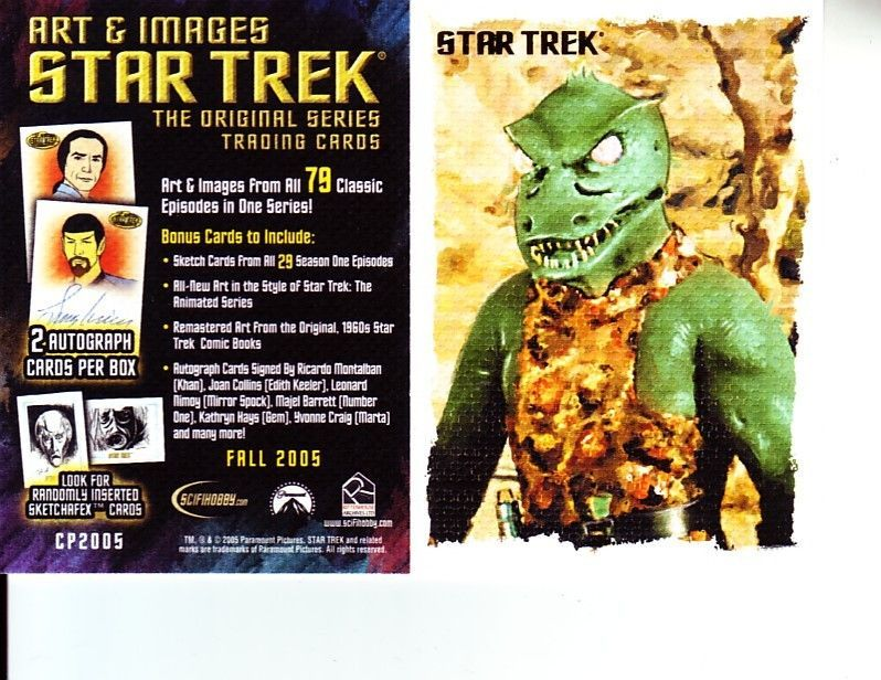 Star Trek Art Images TOS Convention Promo Trading Card CP2005 | eBay