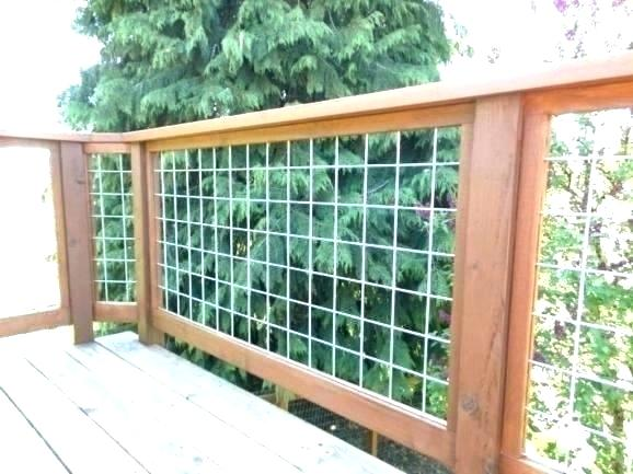 Hog Panel Deck Railing Fence S Home Depot Ideas Of Cattle Wire