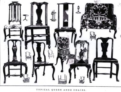 Identifying Antique Chair Styles | In The Queen Anne Period, Tea Drinking  Became Popular,