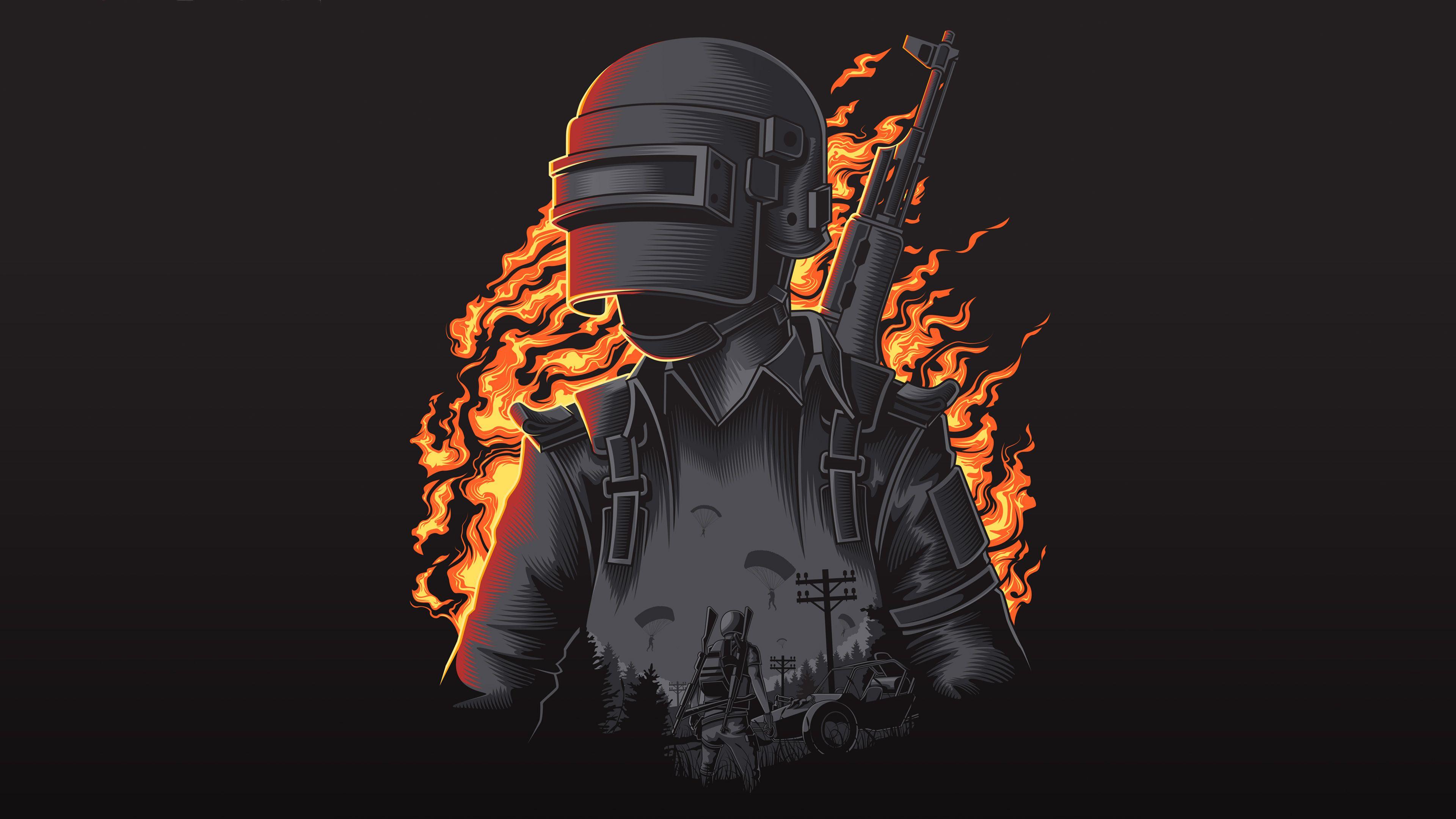 Pubg Illustration 4k Pubg Wallpapers Playerunknowns Battlegrounds