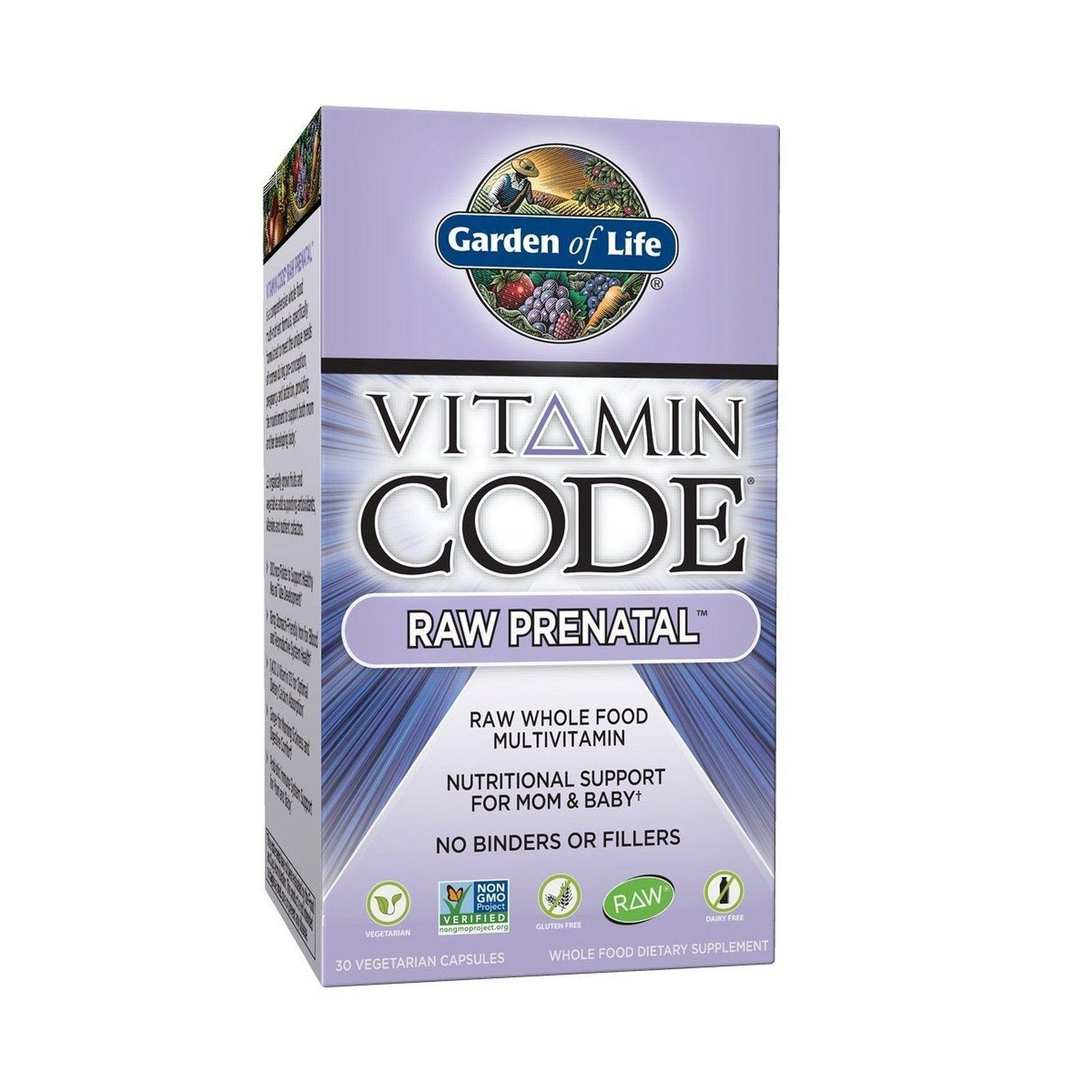 garden of life prenatal vitamins vitamin code raw prenatal wh free shipping - Garden Of Life Prenatal