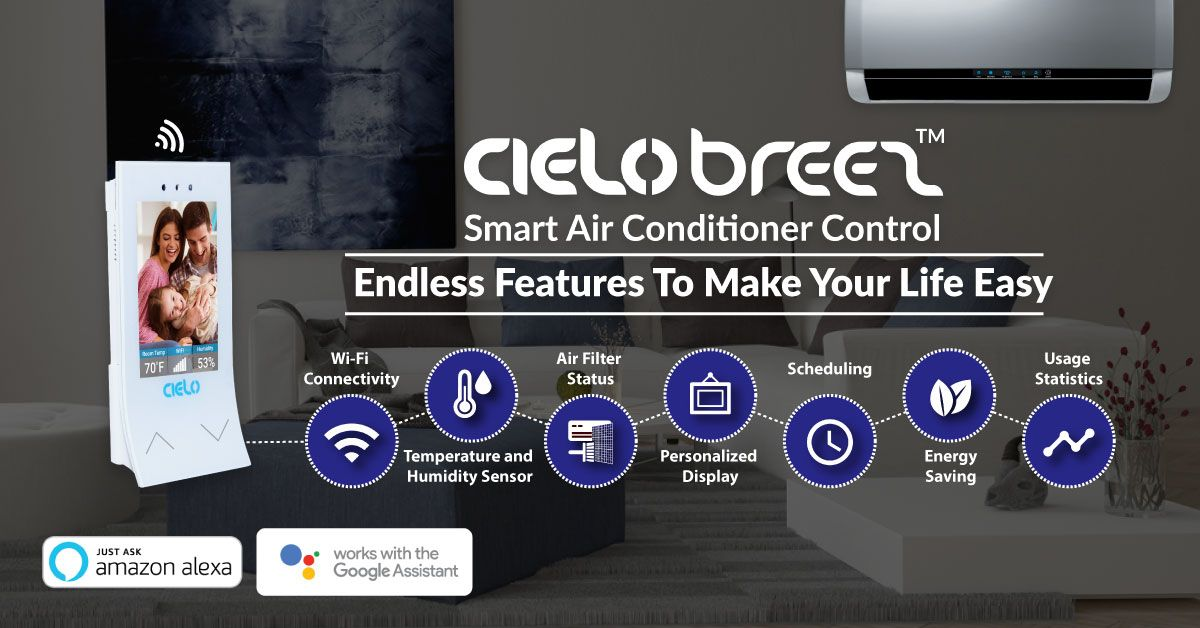 Smart Air Conditioning Was Never So Smart Smart Home Save Energy Heating Cooling