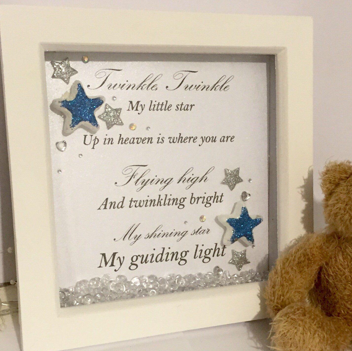 Memorial frame, memorial gift, sympathy keesake, sympathy gift ...