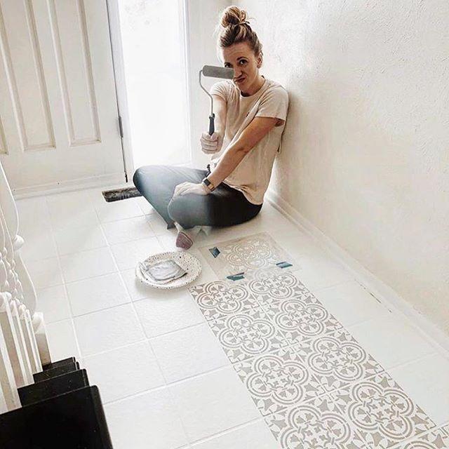Wall stencils, Stencil patterns, Tile Stencils - Our popular stencil designs