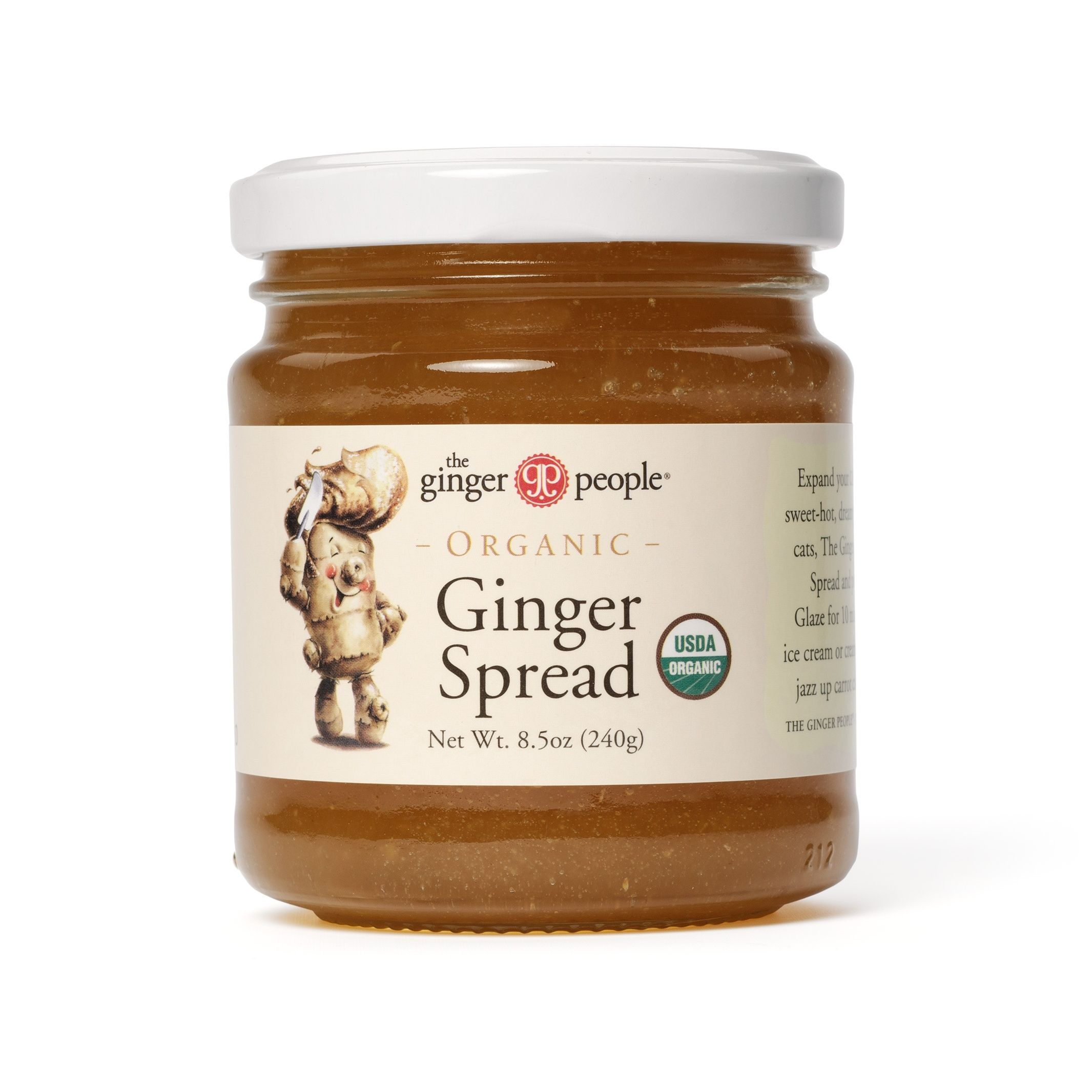organic ginger spread - try on a PBJ