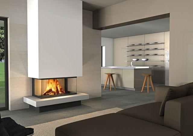Epingle Par Sara Cardinale Sur Fireplace Cheminee En Brique Relooking Cheminee Moderne Cheminee Design