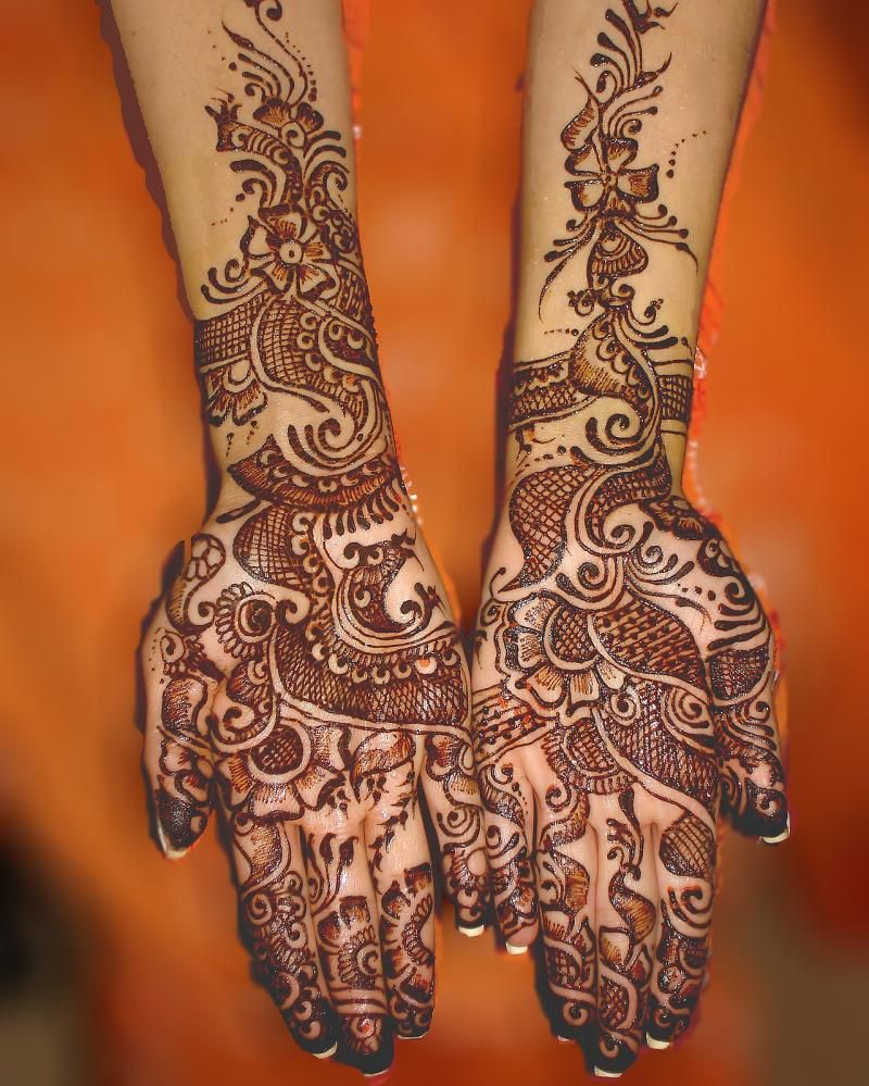Beautiful Henna And Henna Patterns On Pinterest