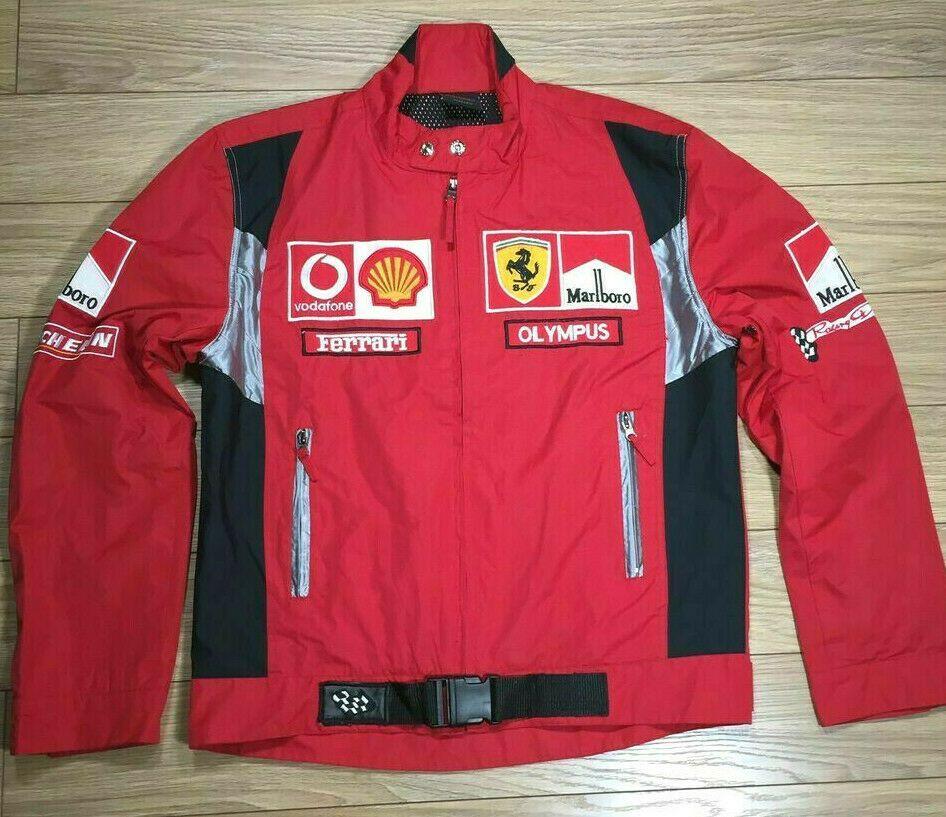 F1 Ferrari Jacket Marlboro Size L F1 Racingjacket Ropa