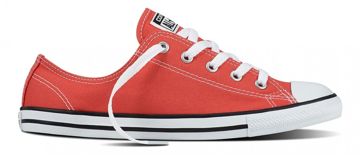 Converse Women S Chuck Taylor All Star Dainty Ultra Red Black