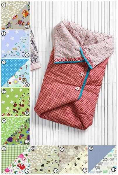 gemütlicher Neugeborenenschlafsack von Copillo auf DaWanda.com