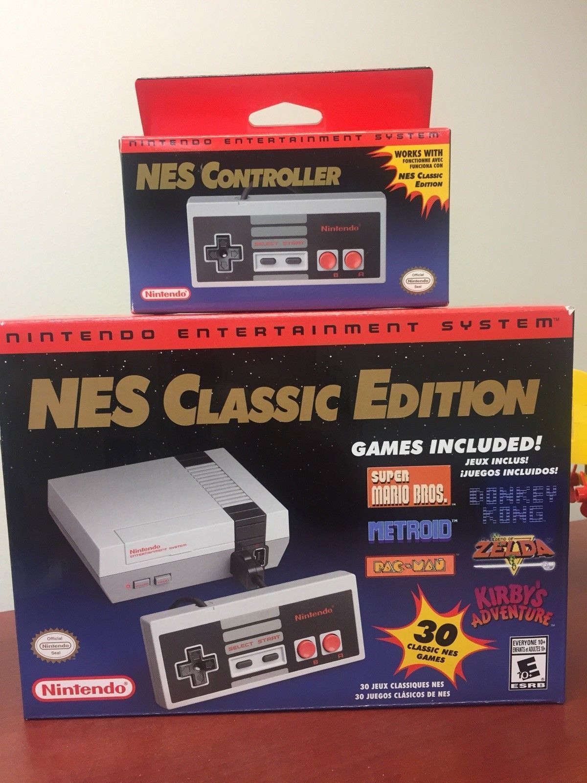 New Nintendo Mini Nes Classic Edition Authentic With Extra