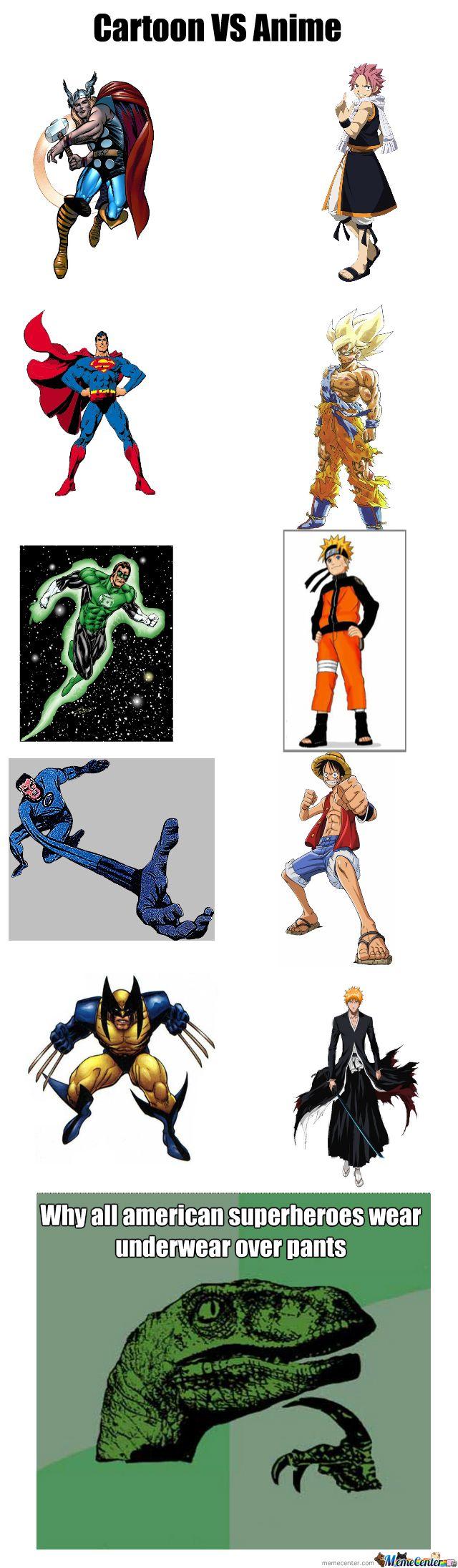 cartoon vs anime Google Search Anime vs cartoon, All