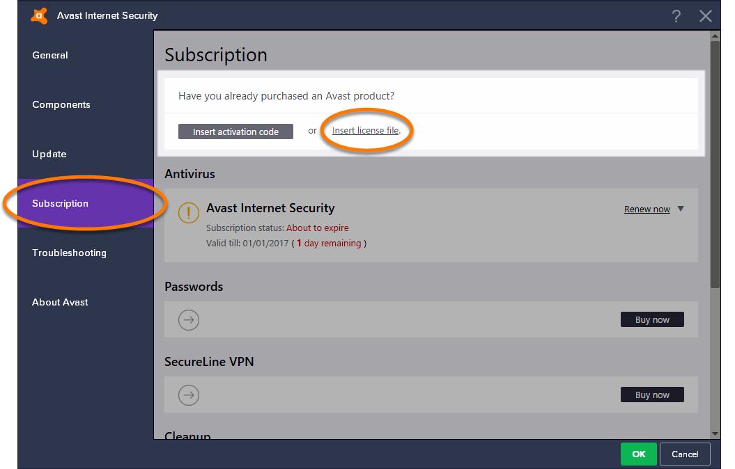 скачать лицензионный ключ для avast free antivirus до 2038