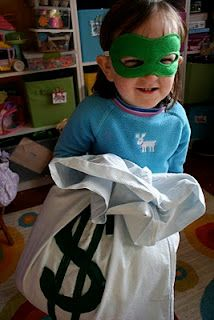 DIY-Bad guy kit- for dress up.