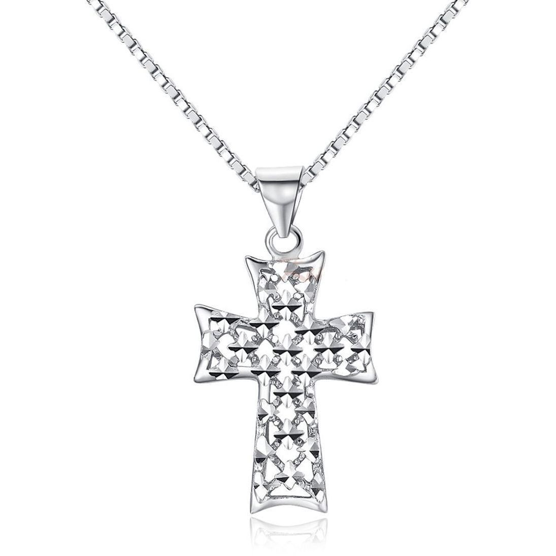 silver chain argentium southwest nancy pendant jackson simple products square cross sw caff