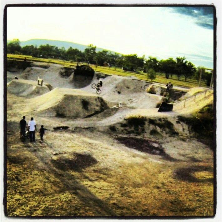 Foto aérea en las rampas del parque meteopolitano de Guadalajara