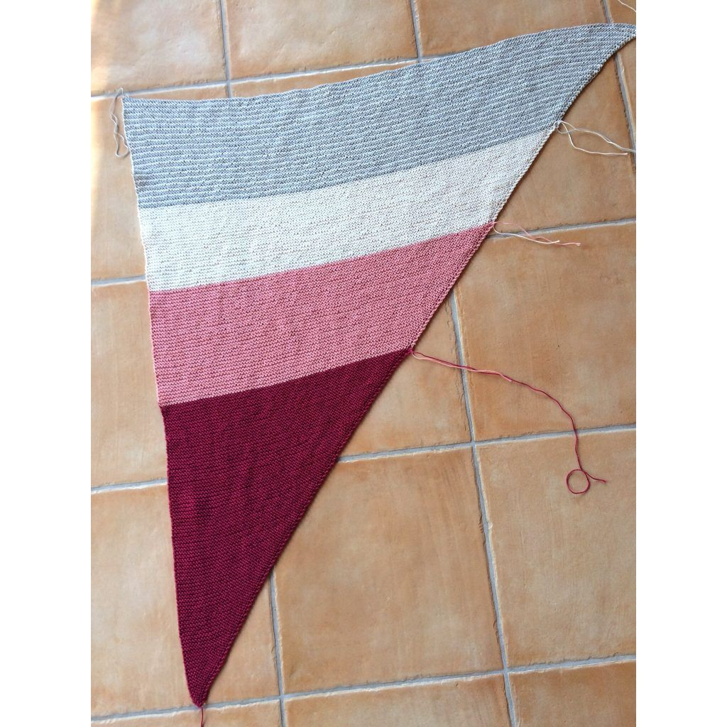 Photo of Knit Catania Triangular Scarf Instructions