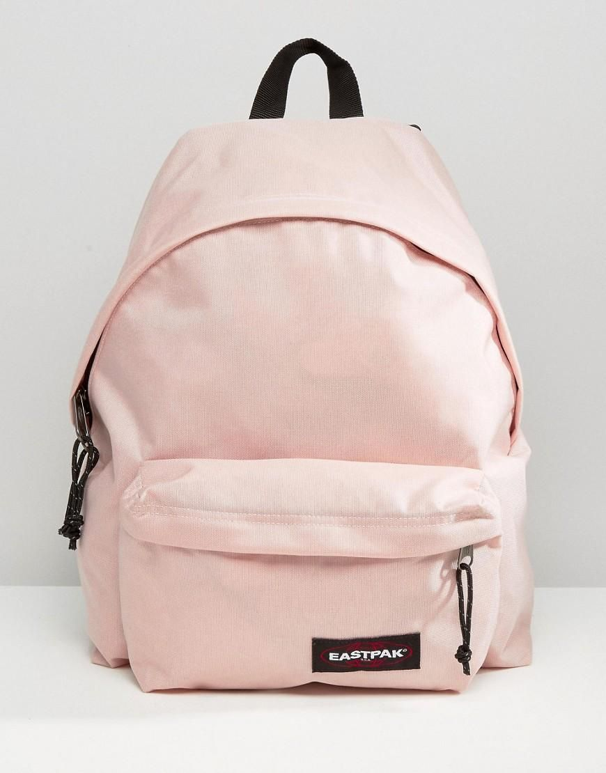 2a2771a687 Pink | Eastpak Padded Pak R in Blush Pink at ASOS | Fashion | Bags ...