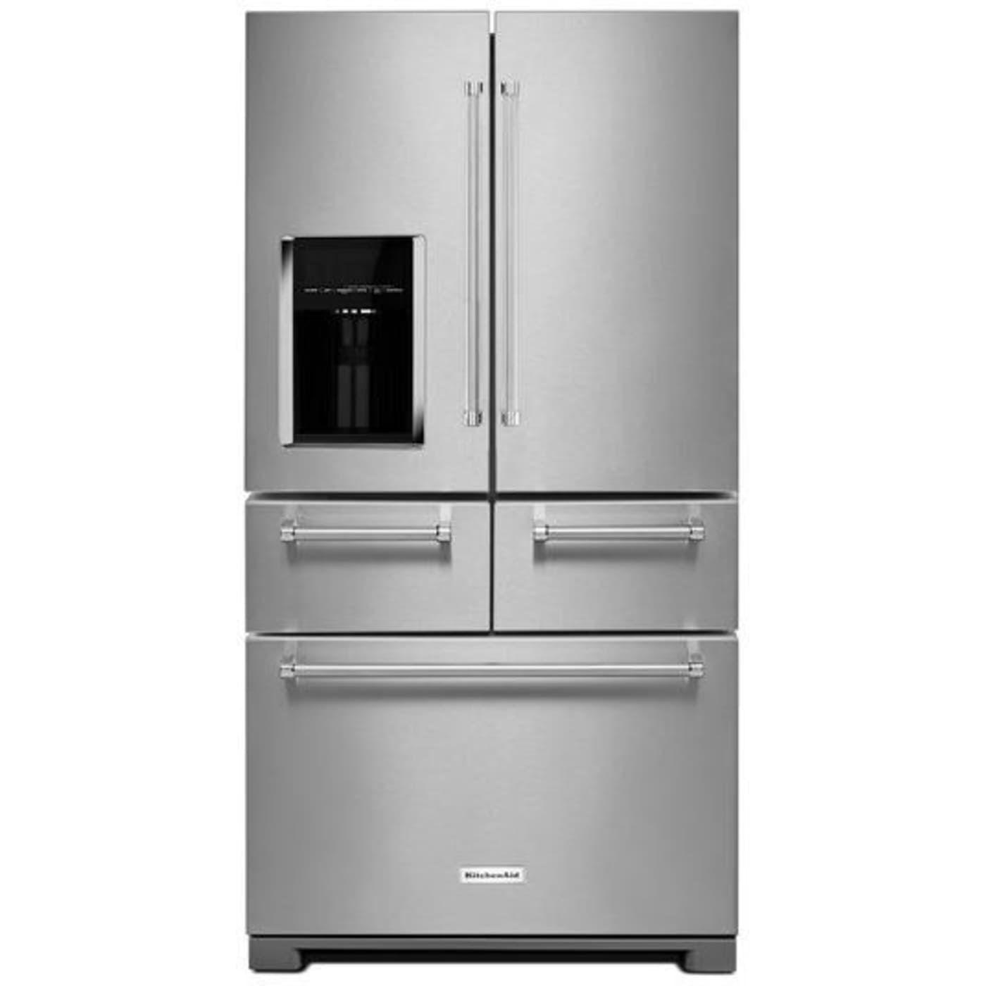 Krmf706ess by kitchenaid french door refrigerators