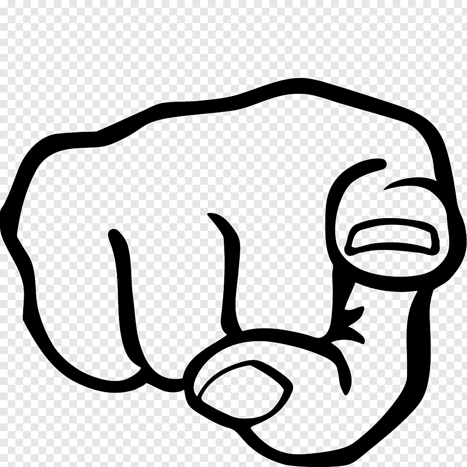 Index Finger Hand Pointing Free Png Finger Hands Hand Outline Pointing Hand