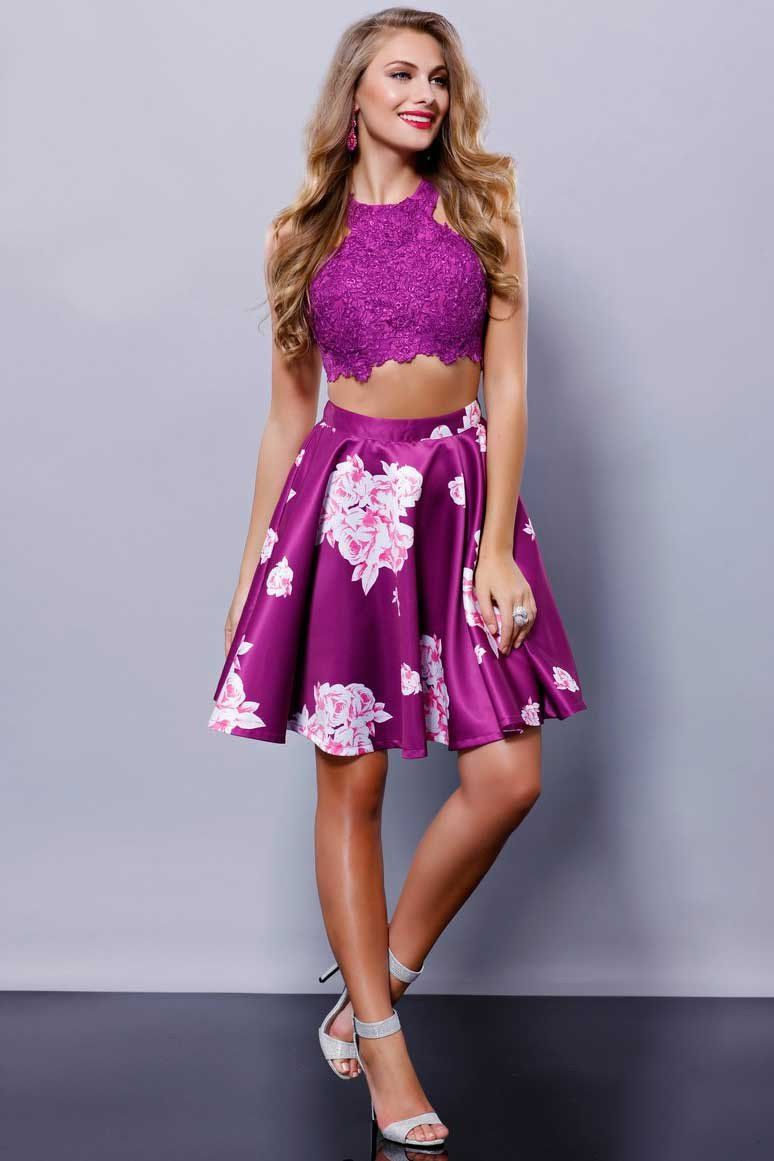 Two Piece Set Cocktail Dress NX6219 | Products | Pinterest | Lujos