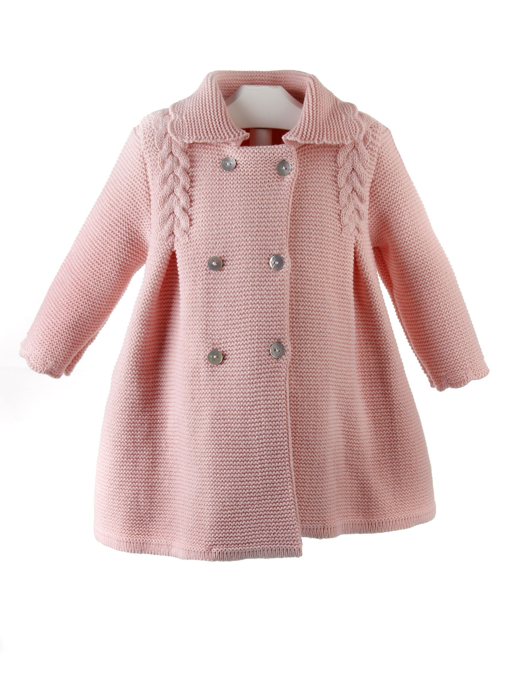 Resultado de imagen para abrigo punto bebé | Crocheted top ...