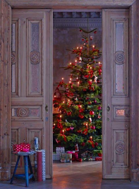 Casa TrÈs Chic O Natal Fotografado Por Julia Sch