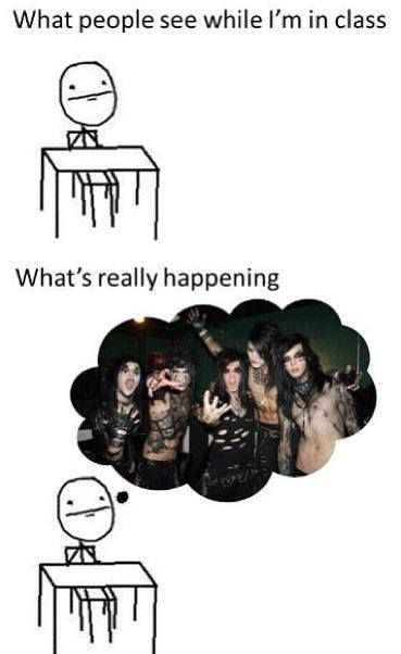 all the time. people are like what are you thinking about? i'm like i wonder what BVB is doing right now?