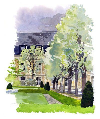 Les Editions Du Pacifique Aquarelles Originales Architecture