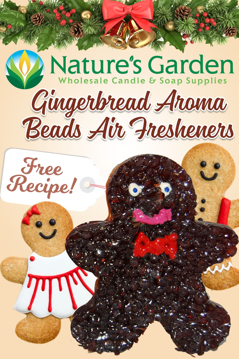 Free Gingerbread Air Freshener by Natures Garden. (With
