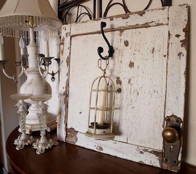 Old Door Wall Decor