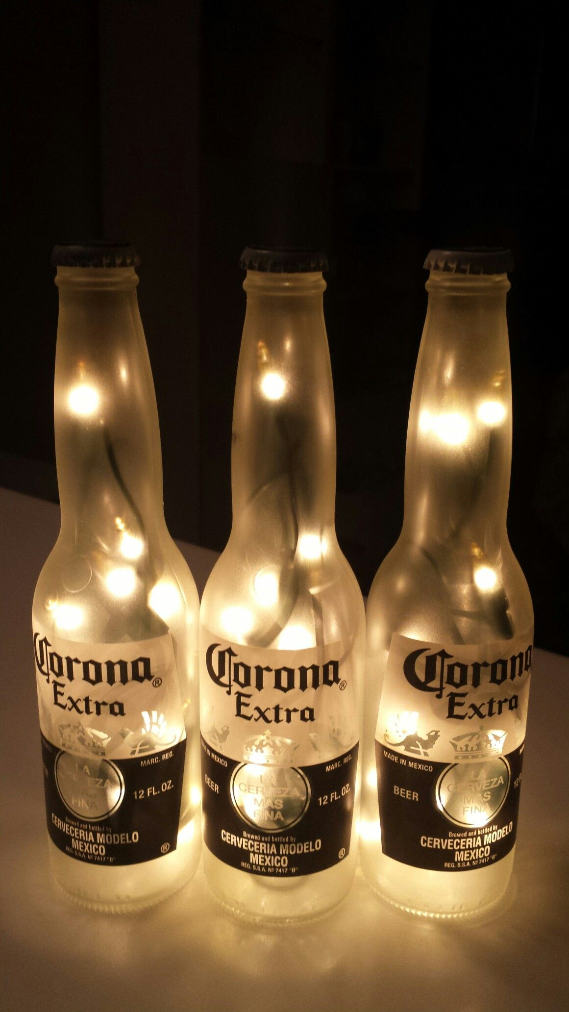 Corona 3 Pack Beer Bottle Light Frosted And Clear Coated Beer Birthday Party Beer Birthday Beer Party Decorations