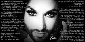 """Conchita Wurst presenta il nuovo singolo """"You Are Unstoppable"""" - http://esc-time.it/2015/02/20/conchita-wurst-presenta-il-singolo-you-are-unstoppable/"""