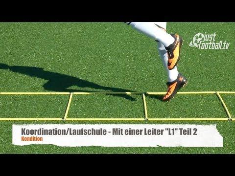 Fussballtraining Mit Einer Leiter L1 Teil 1