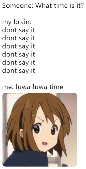 K-ON - Fuwa Fuwa Time #KyoAni - Anime & Manga