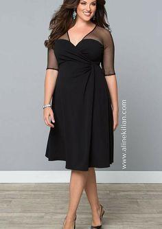 2f5b8fd45 Aline Kilian Consultoria de Imagem | Clássico do guarda-roupa: vestido  envelope