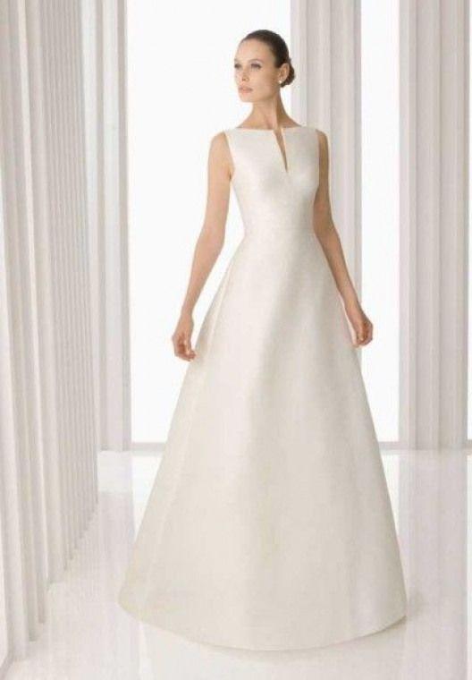 buy online 52947 14d1b hochzeitskleider schlicht lang hochzeitskleider schlicht ...