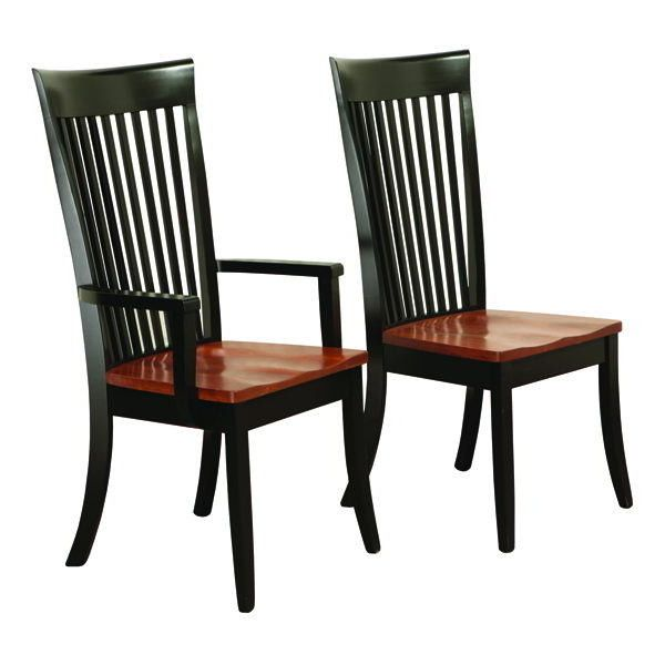 Amish Fresno Shaker Dining Room Chair | Wood dining chairs ...