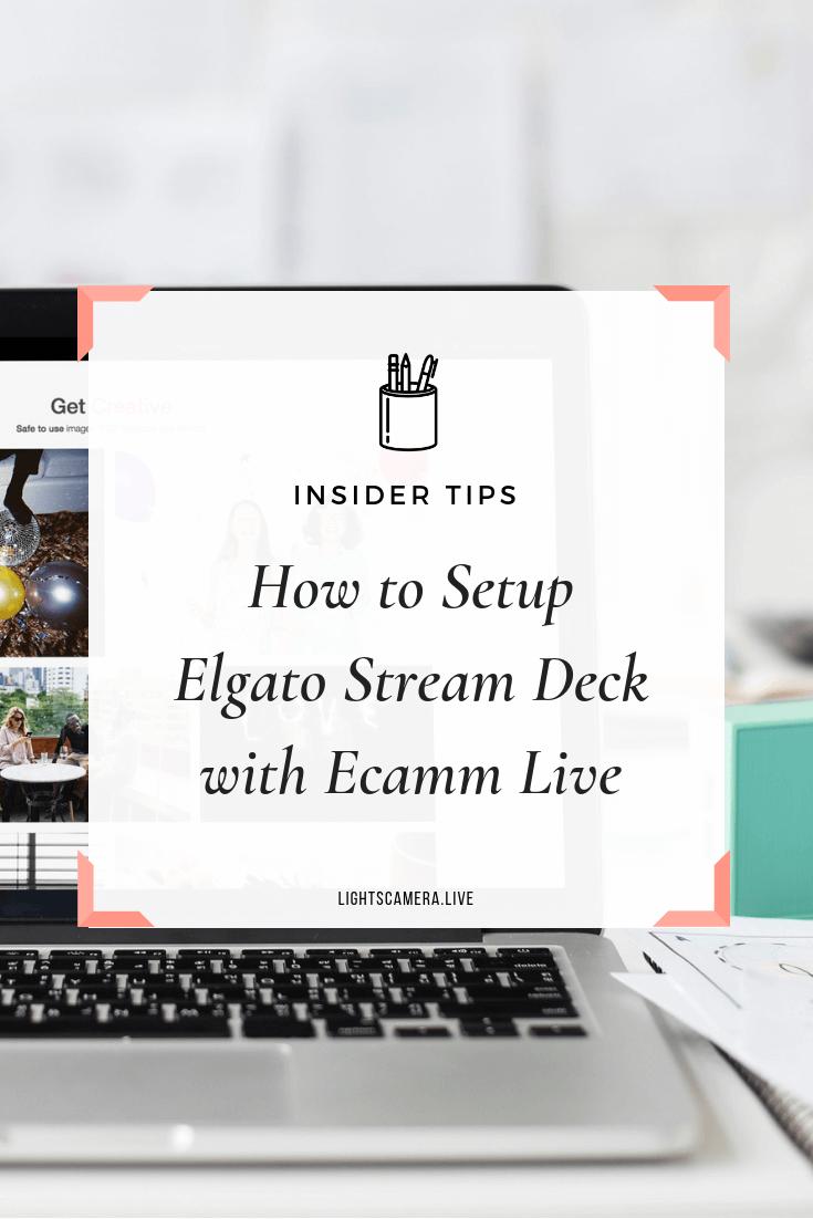 Elgato Stream Deck for Live Streaming Tutorial Marketing