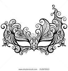 Resultado De Imagem Para Printable Lace Masquerade Mask Template Masks