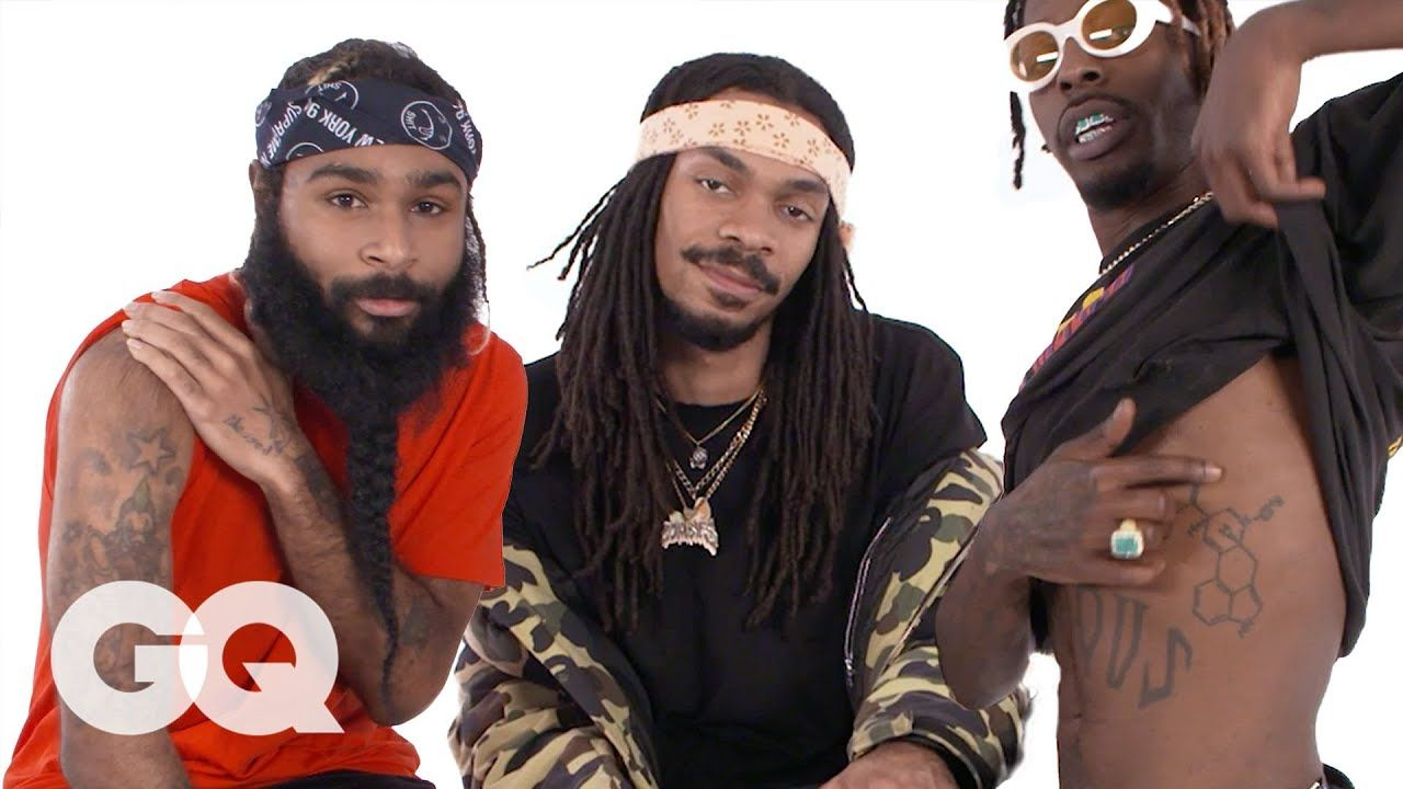 Flatbush Zombies Break Down Their Tattoos Flatbush Zombies