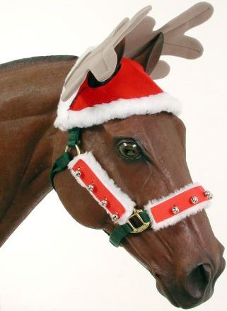 Reindeer Horse Cap | ChickSaddlery.com