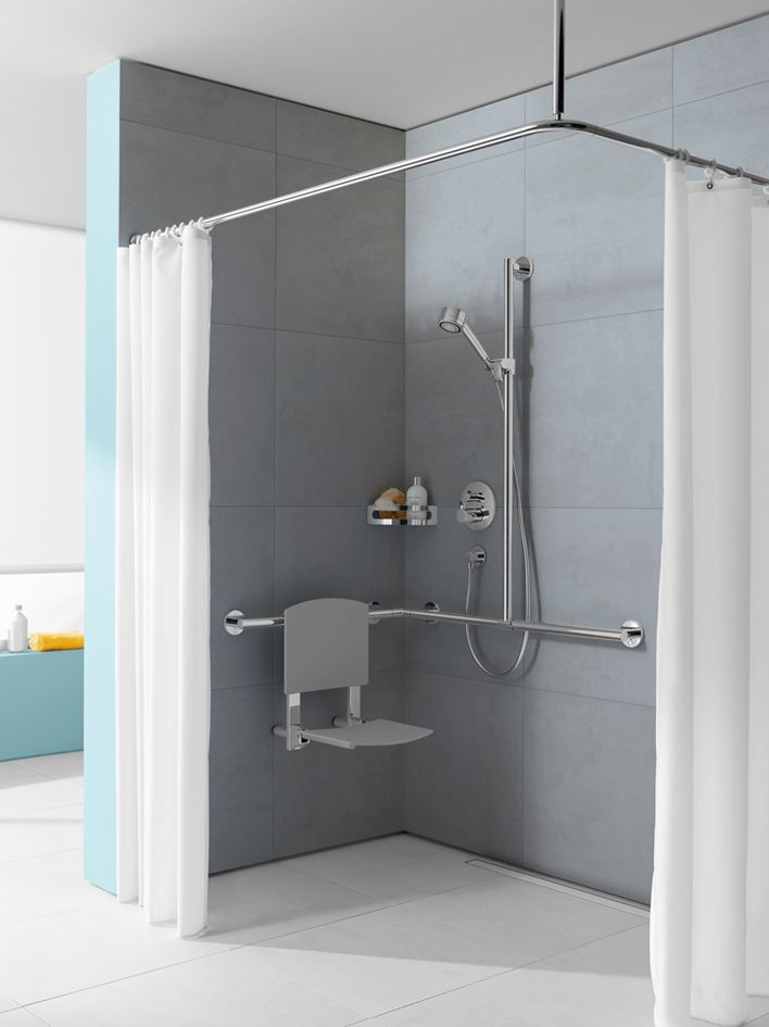 Keuco Care Available In Store Accessible Bathroom Pinterest - Small handicap bathroom ideas