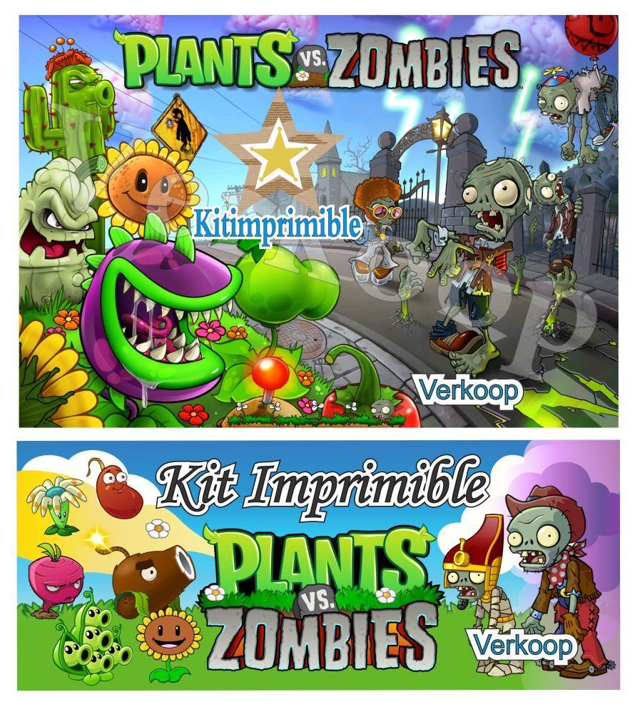 tarjetas de cumpleaños de plants vs zombies para imprimir gratis Buscar con Google Proyectos