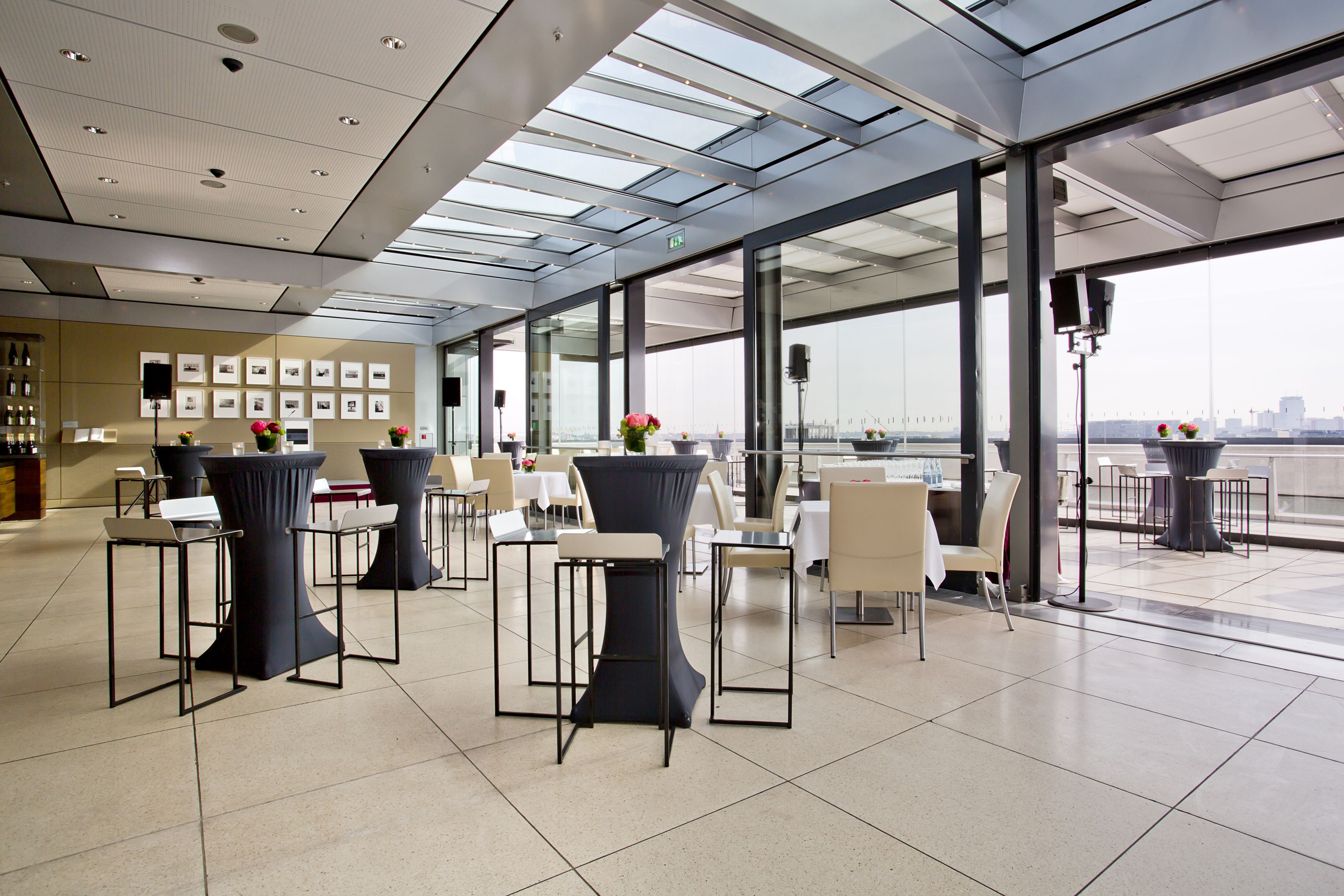 Kafer Dachgarten Restaurant Dachgarten Restaurant Berlin
