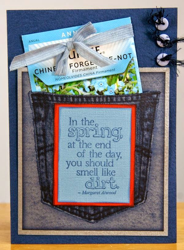 Pocket card by Ruth Ann