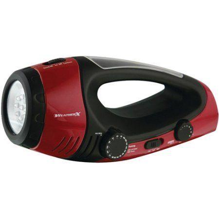 AM/FM Weather Radio & LED Flashlight