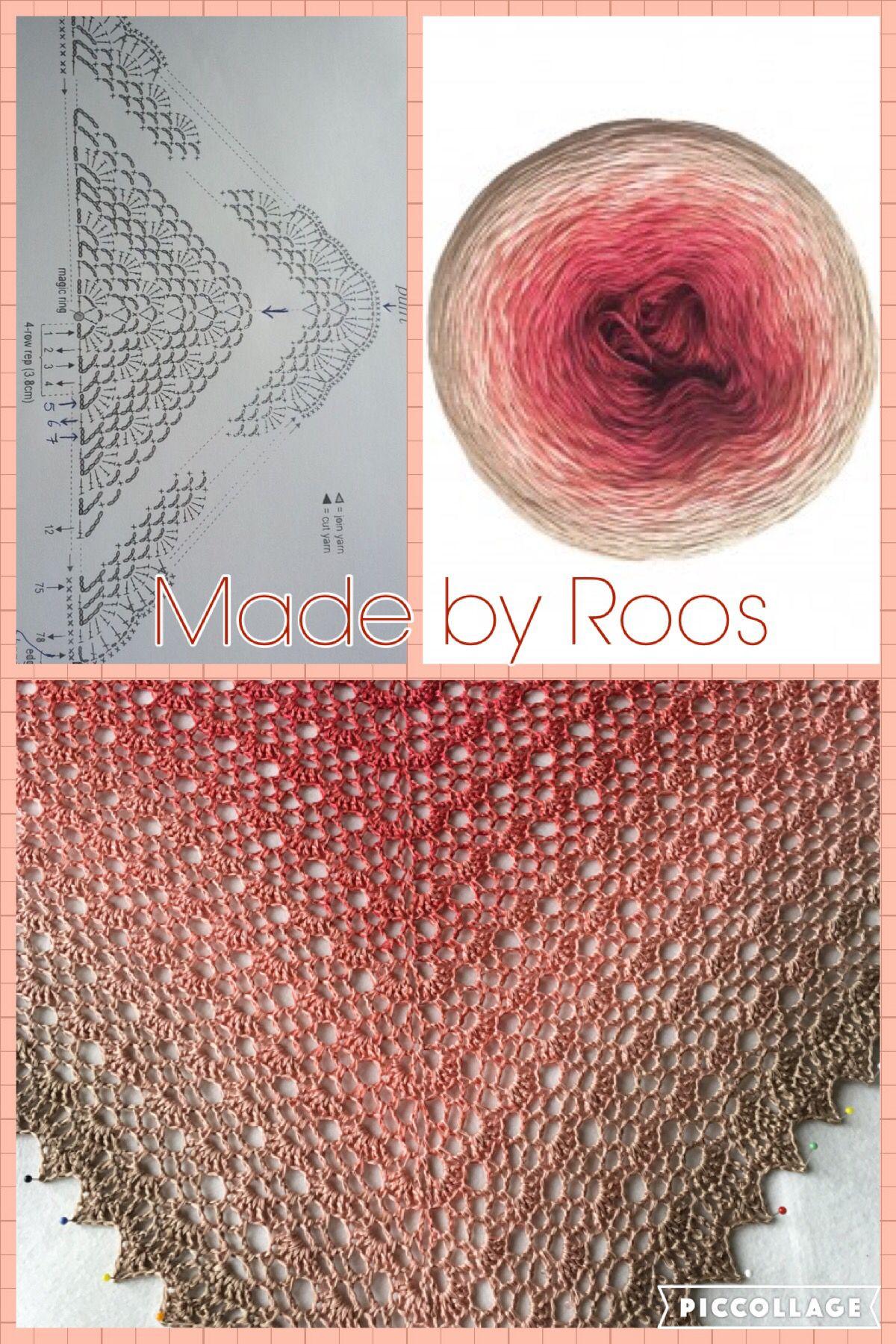 Japonese shawl met Colortwist garen | crochet accesories | Pinterest ...