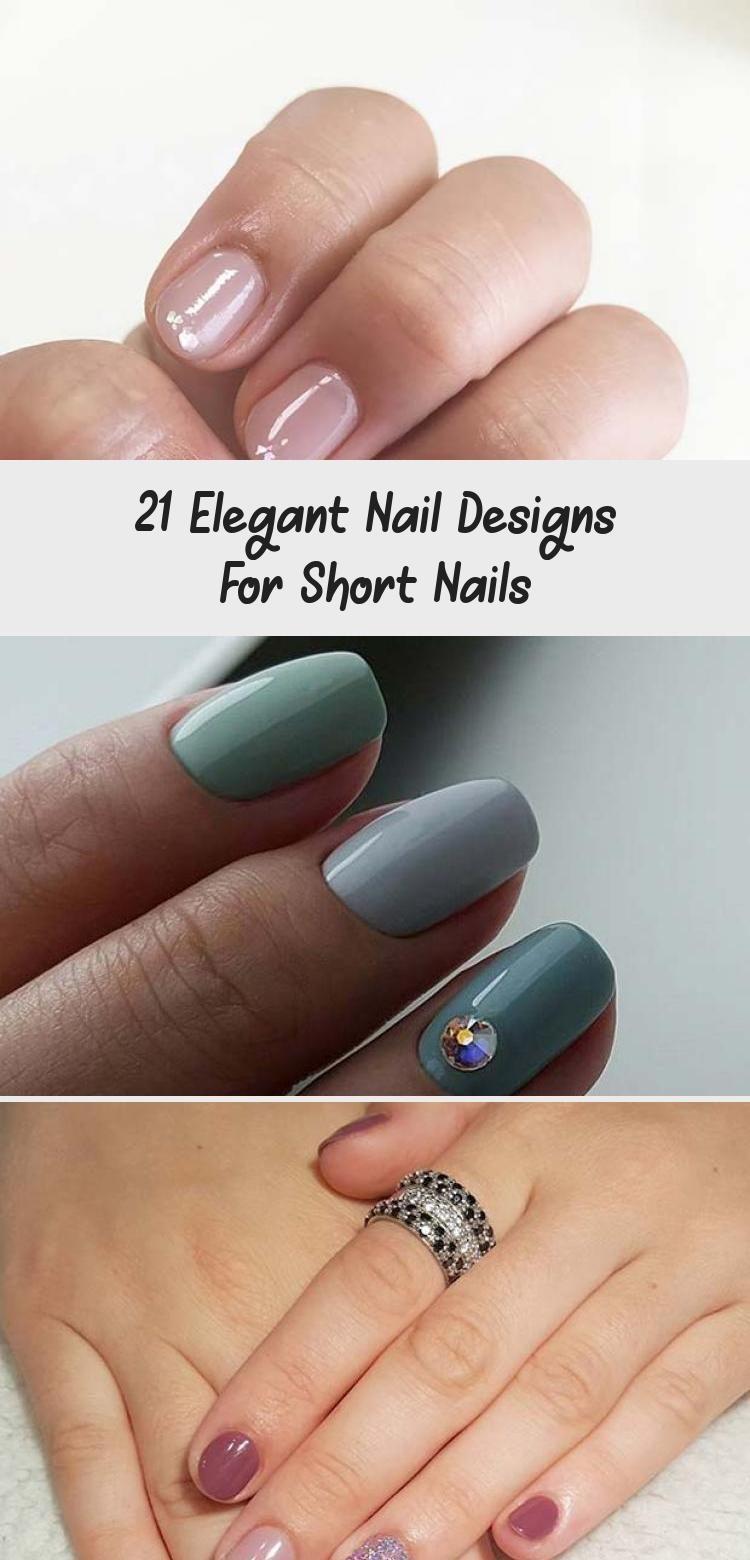Photo of 21 Elegant Nail Designs For Short Nails – Nail Art