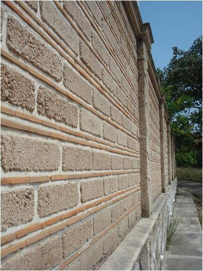 muro de bloques de tabicn